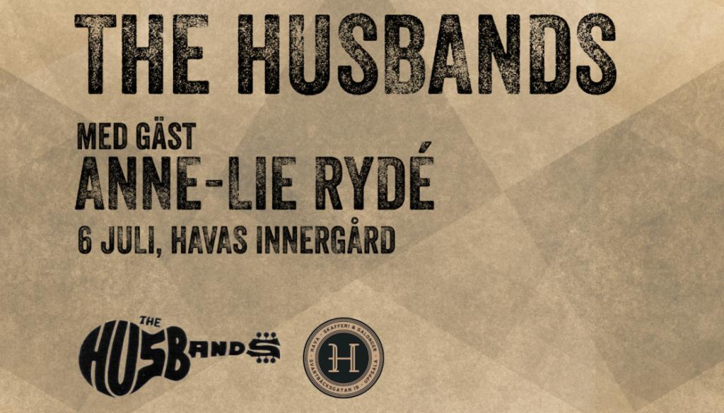 The Husbands med gäst Anne-Lie Rydé