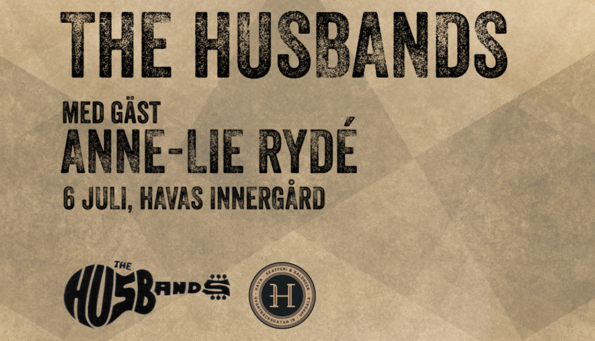 The Husbands med gäst Anne-Lie Rydé