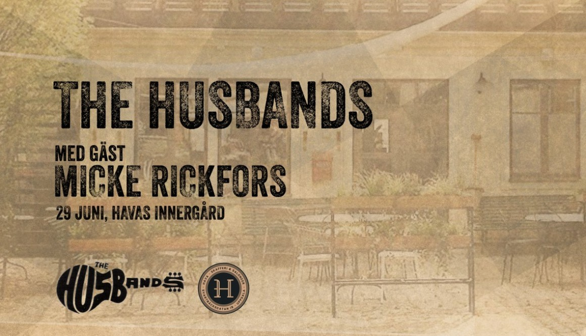 The Husbands med gäst Micke Rickfors