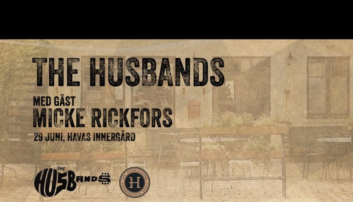 The Husbands med gäst Micke Rickfors