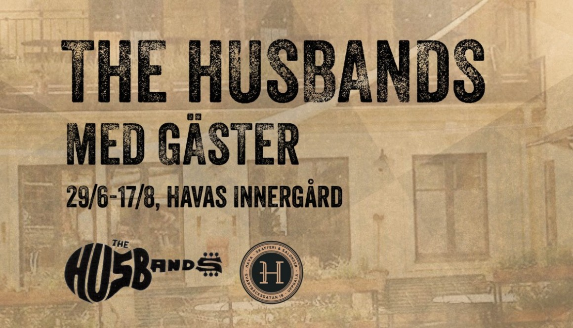 The Husbands med gäst Magnus Lindberg